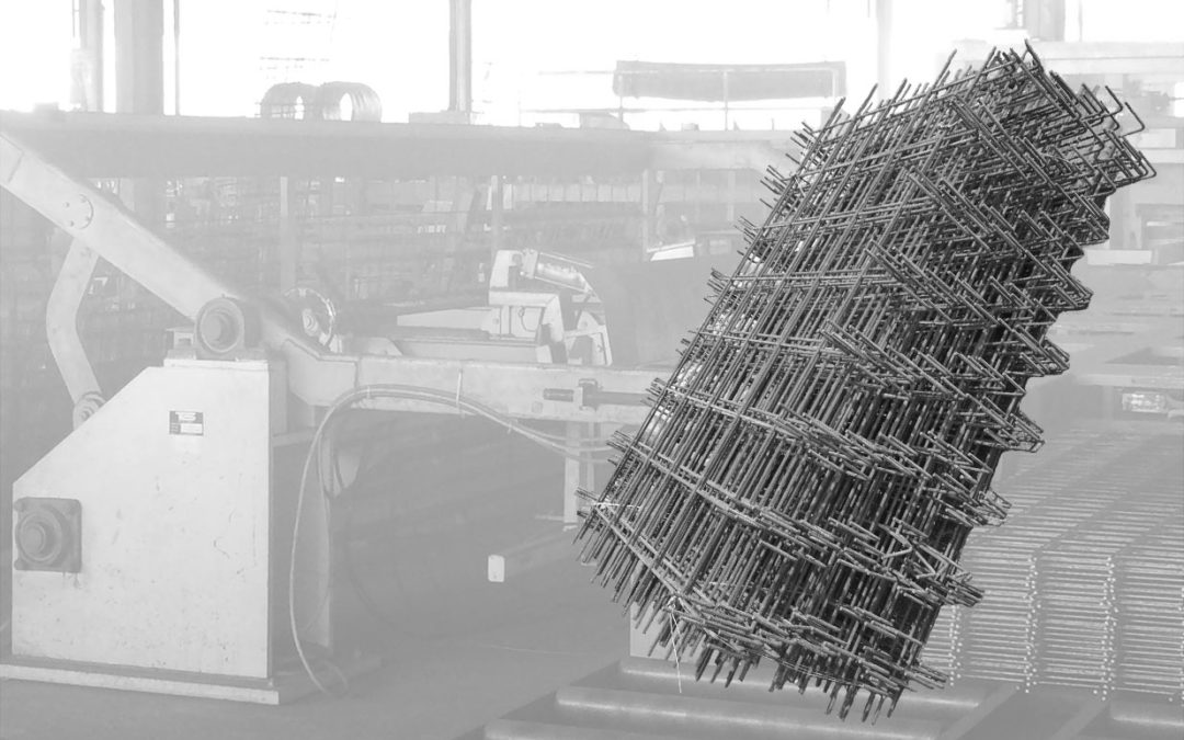 REINFORCING WELDED WIRE MESH (CUT AND BEND SOLUTION MESH)