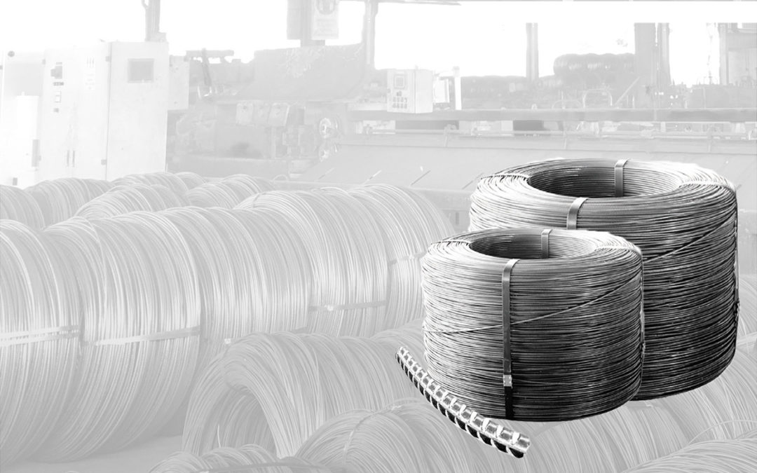CONCRETE STEEL, STEEL REINFORCEMENT, REINFORCING HARD DRAWN RIBBED WIRE